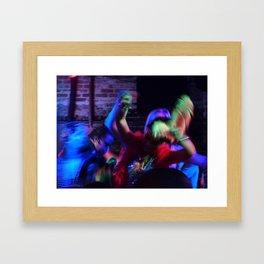 Dancing, 2011.  New Orleans, LA. Framed Art Print