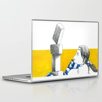 oz Laptop & iPad Skins featuring Equilibria - Oz by Massimiliano Feroldi