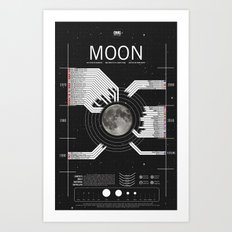 OMG SPACE: Moon 1970 - 2025 Art Print