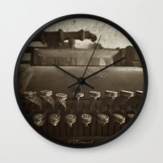 cash is king  Wall Clock