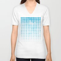 snow V-neck T-shirts featuring Snow by Last Call
