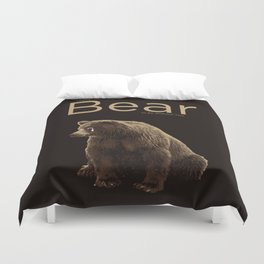I Can't Bear to Be Without You Duvet Cover