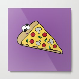 Goofy Foods - Goofy Pizza Metal Print