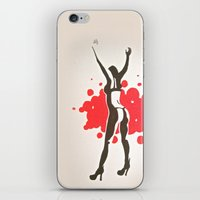florence iPhone & iPod Skins featuring Florence by Gabby Grife   GuinArt
