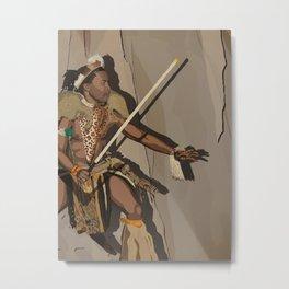 Zulu Metal Print