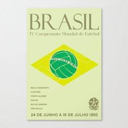 World Cup: Brazil 1950 Canvas Print