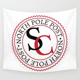 North Pole Post S.C. Wall Tapestry