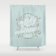 Big Adventure Shower Curtain