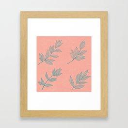 Greenery Framed Art Print