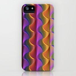 Lines of Swirls iPhone Case