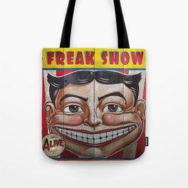 Freak Show- Funny Face Tote Bag
