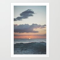 aloha Art Prints featuring Aloha by Tasha Marie