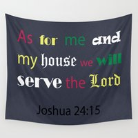 bible Wall Tapestries featuring Bible verse by cmphotography