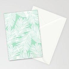 Areca Palm minimal tropical house plants minimalism art print zen chill decor Stationery Cards