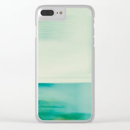 I Am Peaceful Clear iPhone Case