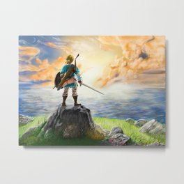 The Legend of Zelda - Breath of the Wild Metal Print