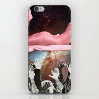 aquarius iPhone & iPod Skins featuring Aquarius by Tropidarks