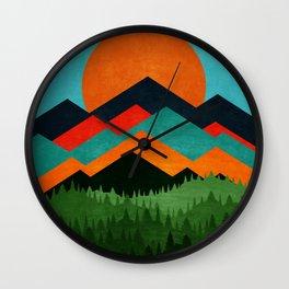 Chill Sunny Day ||| Wall Clock