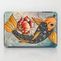 koi iPad Cases featuring Koi by Tuky Waingan