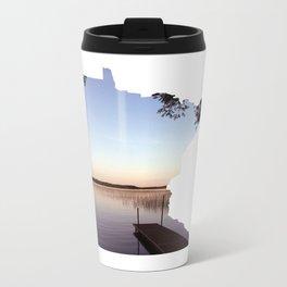 Lake Minnesota Metal Travel Mug