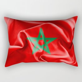 Morocco Flag Rectangular Pillow