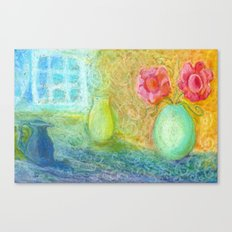 Sunlight in my room Canvas Print