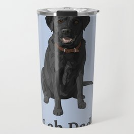 Lab Dad Black Labrador Retriever Travel Mug