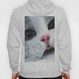 Watercolor Cat Hoody