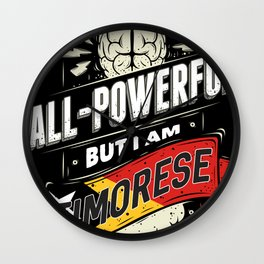 I'm Timorese Proud Country All Powerful Wall Clock