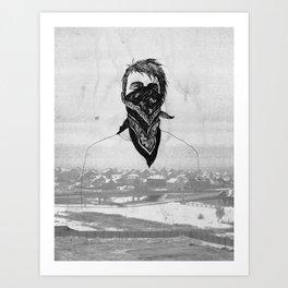 Autopilot on Art Print