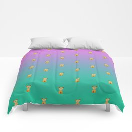 A thousand sitting dogs Comforters