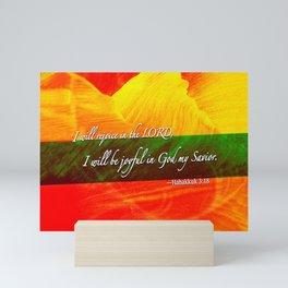 I Will be Joyful! Mini Art Print