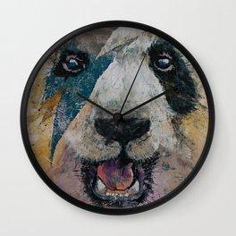 Panda Rock Wall Clock