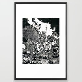First in War Framed Art Print