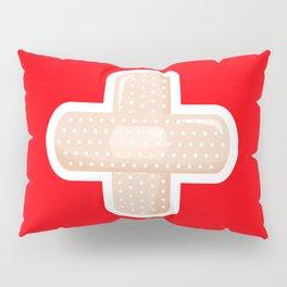 First Aid Plaster Pillow Sham