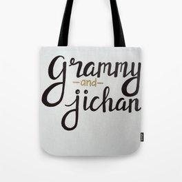 Grammy and Jichan Tote Bag