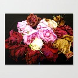 Victorian Roses Canvas Print