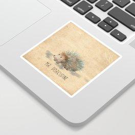 Mr. Porcupine Sticker
