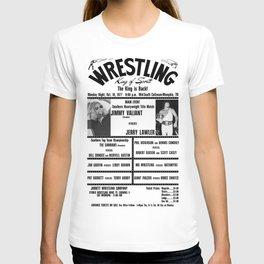 #4 Memphis Wrestling Window Card T-shirt