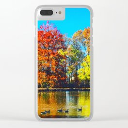 Vibrant Thing Clear iPhone Case