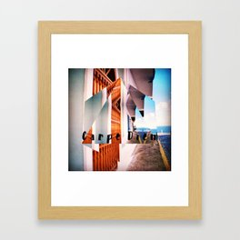 Carpe Diem in Puerto Rico Framed Art Print