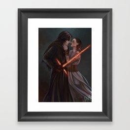 Our love could start a war Framed Art Print