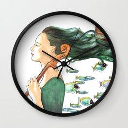 Sofia (Cello) Wall Clock