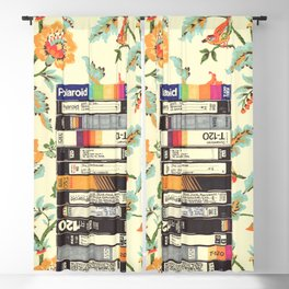 VHS & Entry Hall Wallpaper Blackout Curtain