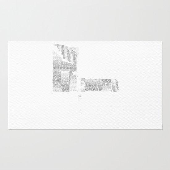 Erosion & Typography 4 Rug