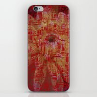 techno iPhone & iPod Skins featuring Techno Asian by DesignsByMarly