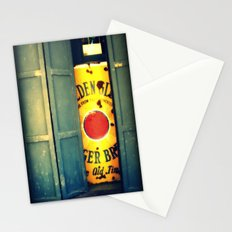 Volcano doors Stationery Cards