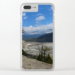 Seeing With Your Heart Clear iPhone Case