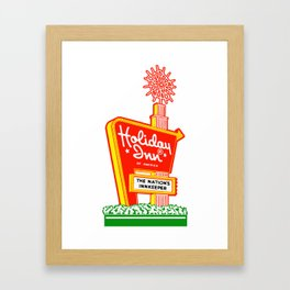 HOLIDAY INN Framed Art Print
