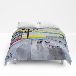 Seaside Cafe Comforters
